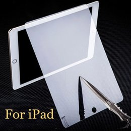For iPad Pro air mini Tempered Glass Screen Protector Film Explosion-Proof Screen Guard For ipad air 5 ipad 2 3 4 DHL free SSC014