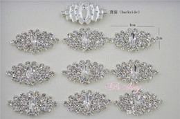 Wholesale Rhinestone Button Flat Back Crystal For Hair Flower Wedding Invitation Rhinestone Applique Accessories Free Delivery
