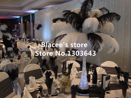 """Wholesale Christmas Decorations Wholesale Prices - Free shipping,Wholesale prices,18-20"""" inches,50pcs lot,black or white ostrich feathers for Wedding Birthday Christmas Decorations"""