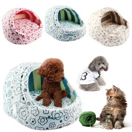 Wholesale Lovely Pet Slippers Bed Dog Puppy Kennel Nest Dog House Bed Removable And Washable