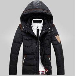 Wholesale 2015 Men s winter jacket coat jacket casual fashion new men thick down jacket color sizes cy