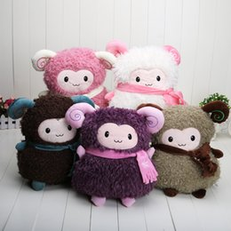 Wholesale Hot Sale Sheep plush toy doll thermal cartoon pillow alpaca hand Warmer handwarmer pocket pink color