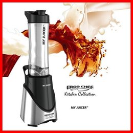 Wholesale DHL NEW ERGO CHEF MY JUICER W Handheld juicer blender Mixer Kitchen Appliances juices Extractor blender juicer