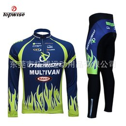 Wholesale-2015 Bike Bicycle Men Jersey Clothing Cycling Long sleeve jersey + Short Sets Mens Cycling jersey Winter Sportswear