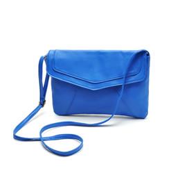 Fashion Women Messenger Bag PU Leather Envelope Shoulder Crossbody Bag Vintage Small Clutch Bag