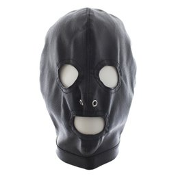 w1031 Adult Products Sex Sexy Game Toy Tease Bondage Restraint Fetish Subversion Mask Open eyes Hood Cap Spandex Cosplay