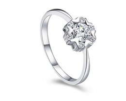 crystal 925 silver lady's ring all size (yt-jd ) dgdg