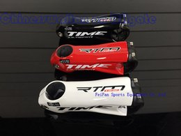 Wholesale 2014 hot sale ultralight full carbon fibre time stem bicycle stem diameter mm length mm accept customized brand