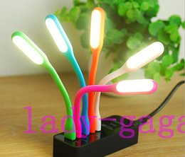 Wholesale Mini Portable USB LED Lamp Light Flexible Led Lamp for Notebook Laptop Tablet PC USB Power With Retail Package
