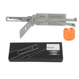 Recoge volvo en venta-Smart HU56 2 en 1 selección y decodificador automáticos para la selección de la cerradura de la herramienta del volvo Toollocksmith envío libre