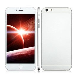 Wholesale Aluminum Alloy inch Goophone i6s Plus G WCDMA Dual Core MTK6572 MB GB GB GB GB Android MP Camera Nano Sim Smartphone