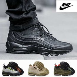 Discount Shoes Run Air Max 2016 Nike Air Max 95 Sneakerboot Retro Running Shoes For Men Cheap Athletic Boots Trainers Sport 90 Sneakers Eur 40-46 Free Shipping
