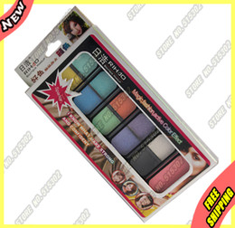 Wholesale authentic Beauty Women Pigment Eyeshadow Color Eye Shadow Minerals Blush Powder Palette New in Box Kit