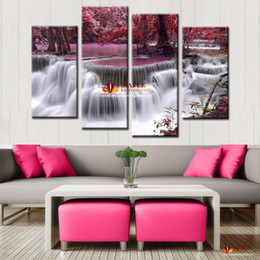 Hot Sell Wall Decor Painting Mangrove With Waterfall Modern Decorative Picture Canvas Art Paint HD Large Wall Pictures For Living Room