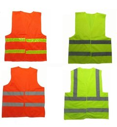 High visibility Reflective Safety Clothing Worker Clean sanitation highway road traffic warning reflective safety vest