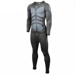 Capas base en Línea-Al por mayor-Hombres ropa interior térmica de la capa exterior de la ropa interior del carbón de leña Deporte Base 726-8078