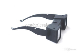Wholesale D Scope Mini side by side d anaglyph glasses breath taking experience imax glasses d for tablet pc tv notebook ipad