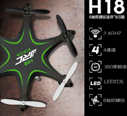 Wholesale JJRC H18 Hexacopter GHz CH D Flips RC Nano Helicopter with Headless Mode Remote Control Toys Best Gifts for Kidsnd order lt no track