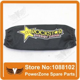 Wholesale Rear Shock Absorber Cover Protector Guard Suspension Rockstar Cover for Motorcycle Dirt Pit Bike ATV Quad