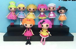 Wholesale 2015hot sale kids toys hasbro toy LALALOOPSY PVC cartoon Action Figures kids toy figure Gifts Christmas gift pieces set DHL