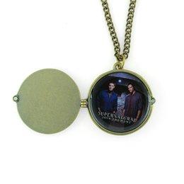 Wholesale European style Jensen Ackles Jared Padalecki Photos Saving People Supernatural Necklaces