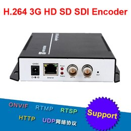 Wholesale H G HD SD SDI Encoder for IPTV HD Video Capture Card Live Stream Broadcast by RTMP HTTP RTSP for Wowza Media Server
