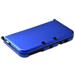 Wholesale-Metallic Protective Case for Nintendo for New 3DS XL Blue