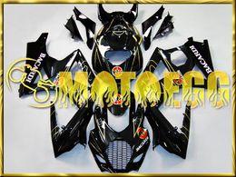 Wholesale Motoegg Injection Fairing Fit Suzuki GSX R GSXR1000 K7 Bacardi Black