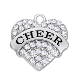 3pcs a lot cheer letter positive charms