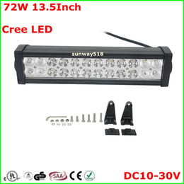 Wholesale Cool White Inch W Curved LED Lights Bar Off Road ATVs Boat Truck UTV Jeep Train Driving Work Light Bars