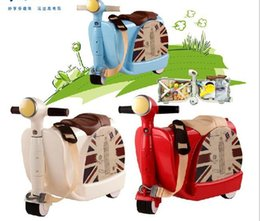 Wholesale Children s educational toy multifunction Two in one suitcase toy travel wheel car baby toys ABS material fashion board chassis