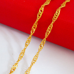 Wholesale - & 14k gold filled necklace ,width: 2.5mm, Length: 48cm, weight:. 3g ,chain jewelry