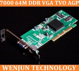 Wholesale Brand New Sapphire ATI Radeon M DDR VGA TVO AGP Graphic card in stock order lt no track