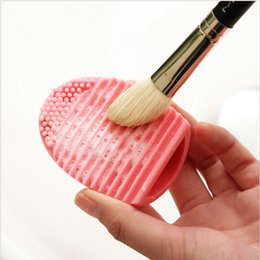 1 PC 5 Colors Silicone Cleaning Cosmetic Make Up Washing Brush Gel Cleaner Scrubber Tool Foundation Makeup Cleaning Tools