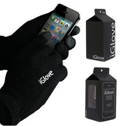 Wholesale Unisex iGlove Capacitive Touch Screen Gloves for iphone plus S for ipad for samsung iGloves gloves Colors Choose