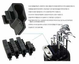 New Arrival 14Pcs Golf Club Organizers Club Clips Power Golf Club Holder Set