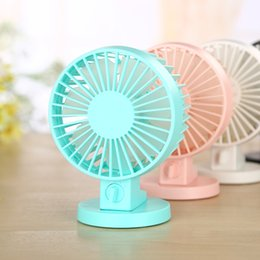 Wholesale USB Portable Desk Mini Fan with Switch for Office Use Mute Cooler High Air Flow Adjustable Speed Fans black friday