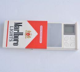 Wholesale 2016 New Come Mini Cigarette Case Style Scale Digital Pocket Scales Cigarette Pack Digital Jewelry Scale g