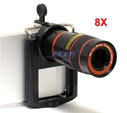 MobilePhone Telescope Long Focal Lens for Fixed Focus iPhone Camera 8x Optical Magnification for iPhone Samsung Galaxy MobilePhone