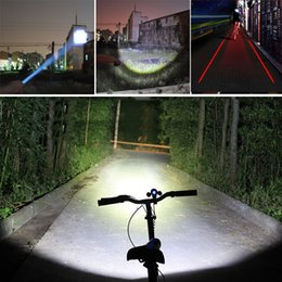 Wholesale-High Quality bike light CREE Q5 zoom flashlight mini torch 600ML LED Cycling Bike Bicycle Front Head Light With Mount