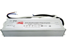 200W Constant Voltage & Current Led Driver Power Supply 48V 4.2A Waterproof IP67 For Led Light DIY 1pcs