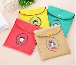 Wholesale Small fresh fluid sanitary napkin sanitary napkin bags storage bag