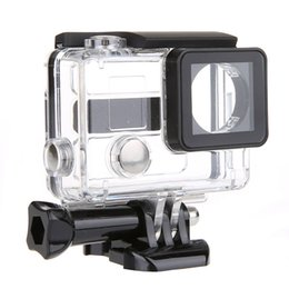 Wholesale Wire Connectable Side Open Protective Housing Case For Hero Microphone For GoPro Hero Microphone Adapter Cable W0122A