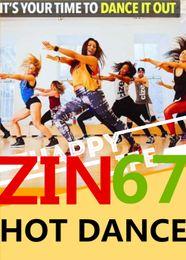 Free Shipping 2017.1 New South America HOT DANCE ZIN 67 Comprehensive dances ZIN67 Video DVD + Music CD