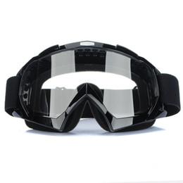 Wholesale Motorcycle Goggles Glasses Skiing Cycling Riding Sports Motocross ATV Dirt Bike Off Road Racing Anti UV Protective Eyewear Sun UV Protection