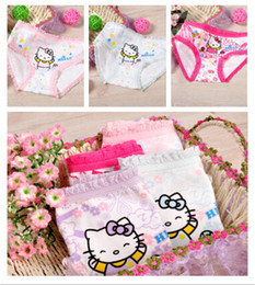 Wholesale Children Cute Underwear - 12pcs Lot Baby Girls Fashion Underwear Kids Cute Cartoon Panties Children Soft Cotton,wholesale and retail