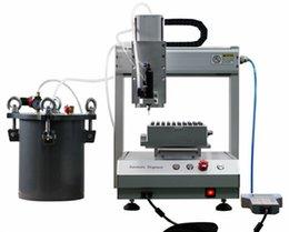 Wholesale 2015 new type wax oil CBD cartridge filling machine CBD oil filling Robort suitable for oil glass cartridge O pen cartridge and bottles