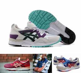 Wholesale 2015 Brand Asics Gel Lyte V5 Running Shoes For Women Men Fashion Lightweight Breathable Athletic Sneakers Eur