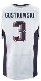 Wholesale Factory Outlet Men s Stephen Gostkowski Jersey Elite Red White Blue Stitched Name And Number