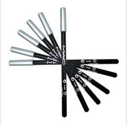 Marrón artista Colores negro de carbono especial ceja delineador negro marca de lápiz de doble uso negro maquillaje resistente al agua el envío libre desde carbono especial proveedores